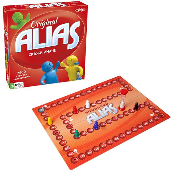 Tactic Games 53364 Настольная игра Alias Скажи иначе 3 tactic настольная игра alias вечеринка