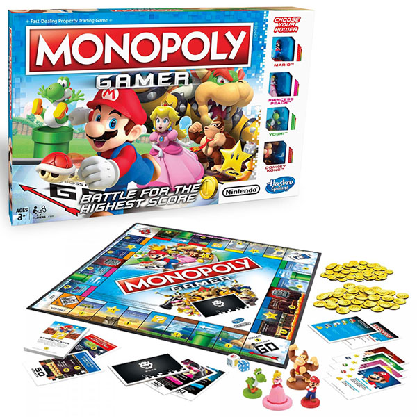 Hasbro Monopoly C1815 Монополия Геймер портативный монополия большой магнит шахматные головоломки настольные игры игрушки 8063