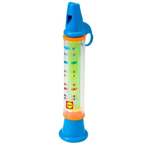 ALEX 4008M Игрушка для ванны Водяная дудочка, от 3 лет пластмассовая игрушка для ванны alex осьминог 842s