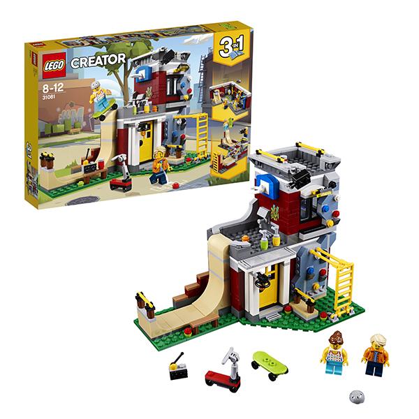 Фото - Lego Creator 31081 Конструктор Лего Криэйтор Скейт-площадка (модульная сборка) конструктор lego подружки выставка щенков скейт парк