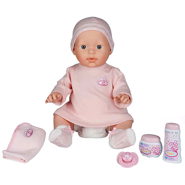 Zapf Creation Baby Annabell 790-618_1 Бэби Аннабель Кукла Нежный уход, 42 см