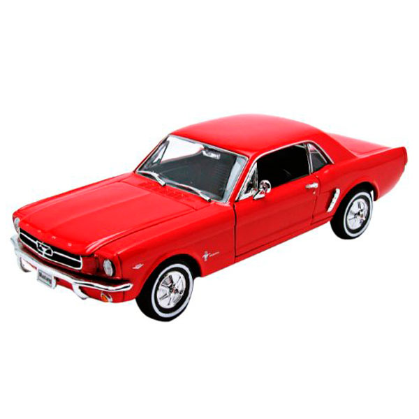 цена Welly 22451 Велли Модель винтажной машины 1:24 Ford Mustang 1964 онлайн в 2017 году