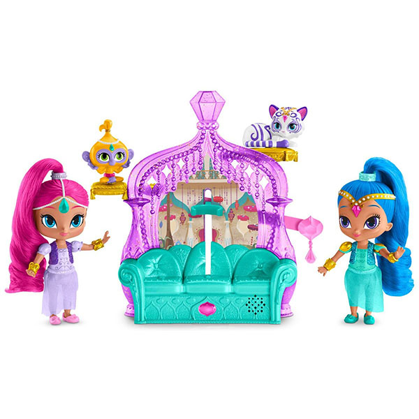 """Mattel Shimmer&Shine FFN42 Игровой набор """"Волшебный дворец"""" игровой набор волшебный дворец shimmer"""