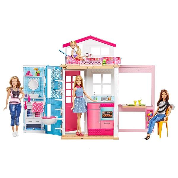 Фото - Mattel Barbie DVV48 Барби Домик + кукла набор школьниика barbie