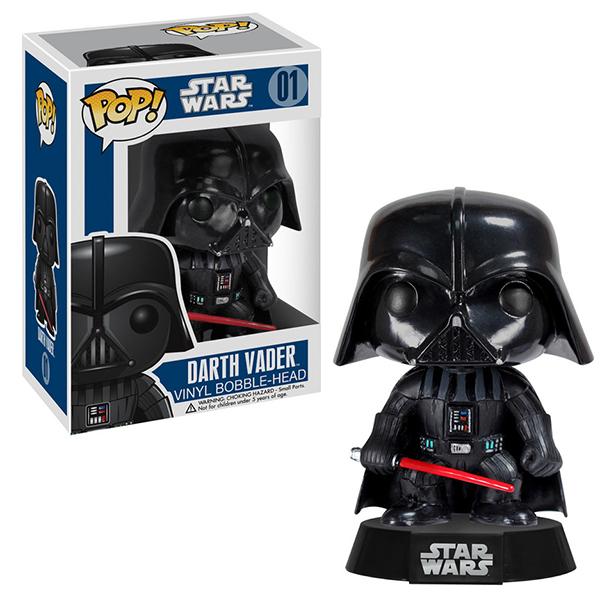 Funko POP 2300F Bobble: Star Wars: Darth Vader 2300 funko pop bobble фигурка star wars solo qi ra pop 6 26977