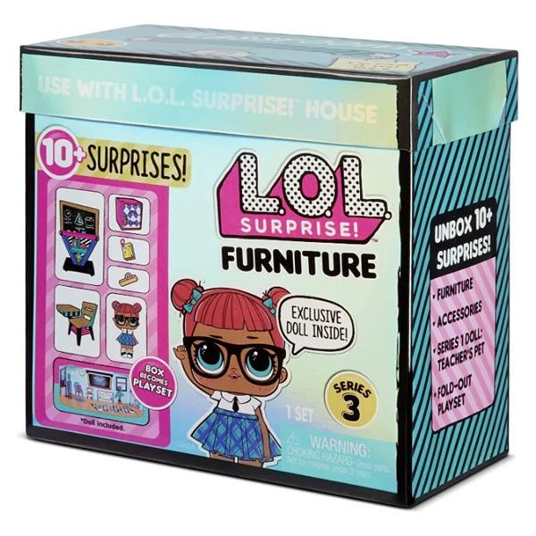 """L.O.L. Surprise 570028 Игровой набор LOL  с мебелью """"Школа"""""""