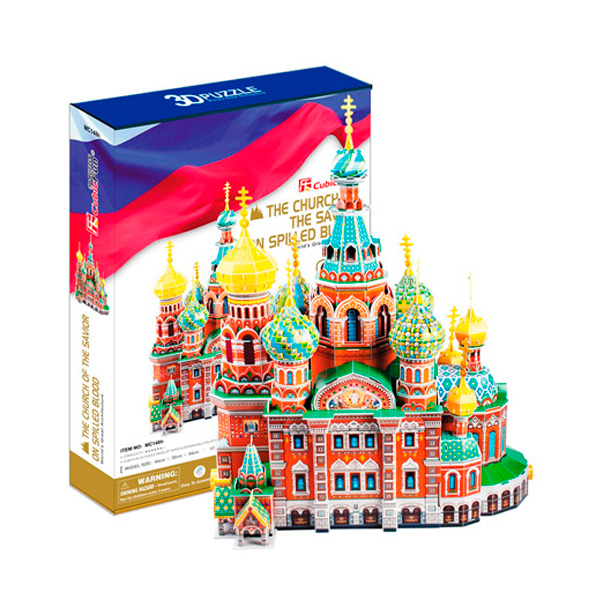 Cubic Fun MC148h Кубик фан Собор Воскресения Христова (Россия)