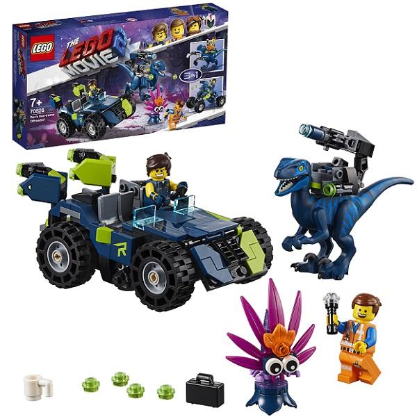 LEGO Movie 2 70826 Конструктор Лего Фильм 2 Рэкстремальный внедорожник Рэкса!