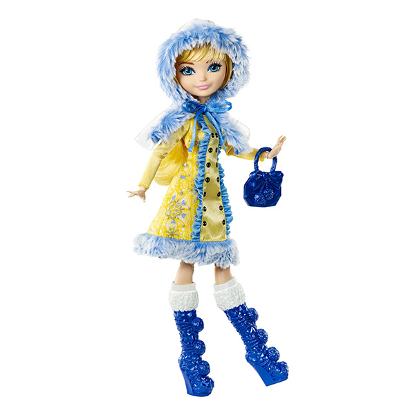 "Mattel Ever After High DKR66_9 Кукла ""Заколдованная зима"" Блонди Локс"