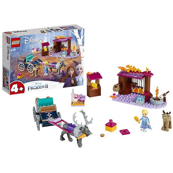 LEGO Disney Princess 41166 Конструктор ЛЕГО Принцессы Дисней Дорожные приключения Эльзы lego disney princess 43178 конструктор лего принцессы дисней праздник в замке золушки