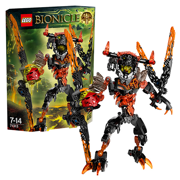 Lego Bionicle 71313 Конструктор Лего Бионикл Лава-Монстр