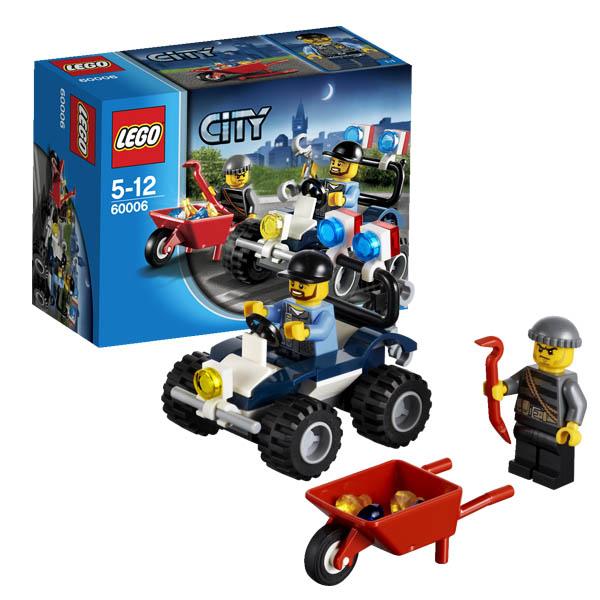 Lego City 60006 Конструктор Лего Город Полицейский квадроцикл