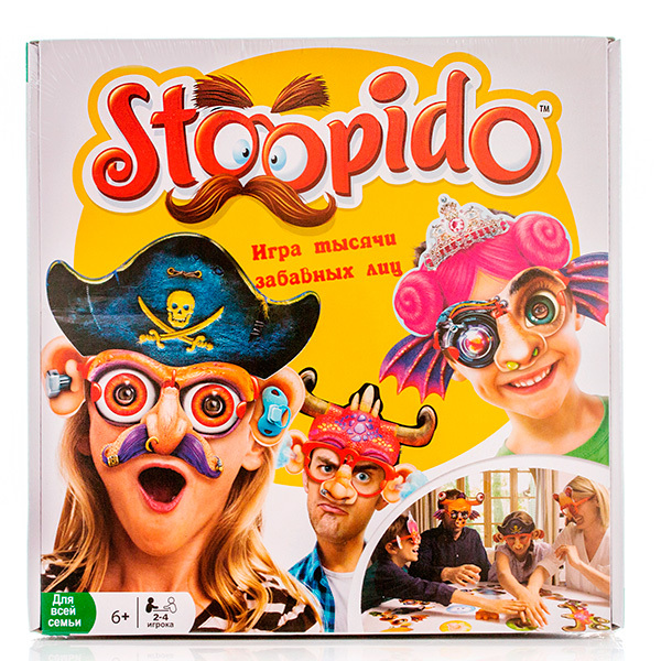 Ooba NPD1504_9 Настольная игра Stoopido