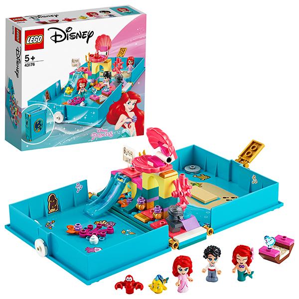 LEGO Disney Princess 43176 Конструктор ЛЕГО Принцессы Дисней Книга сказочных приключений Ариэль