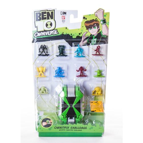 Ben10 36120_1 Бен 10 Часы Омнитрикс с 10 мини-фигурками