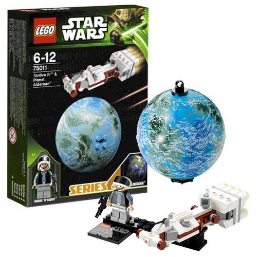 LEGO Star Wars 75011_1 Конструктор ЛЕГО Звездные Войны Корабль Tantive IV и планета Алдераан
