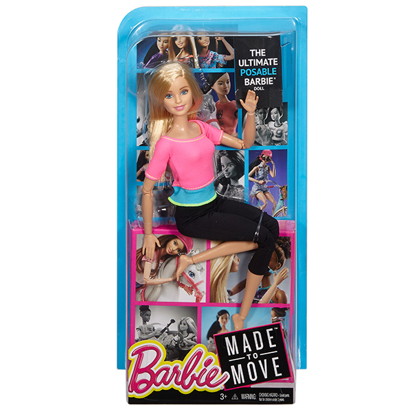 """Mattel Barbie DHL82 Барби серия """"Безграничные движения"""""""