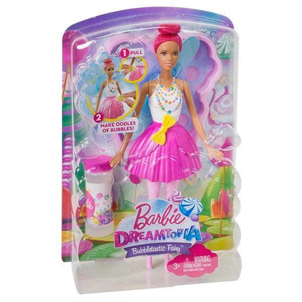 Mattel Barbie DVM96 Барби Феи с волшебными пузырьками Яркая