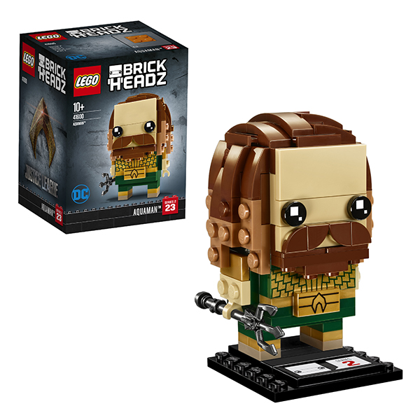 Lego BrickHeadz 41600 Конструктор Лего БрикХедз Аквамен