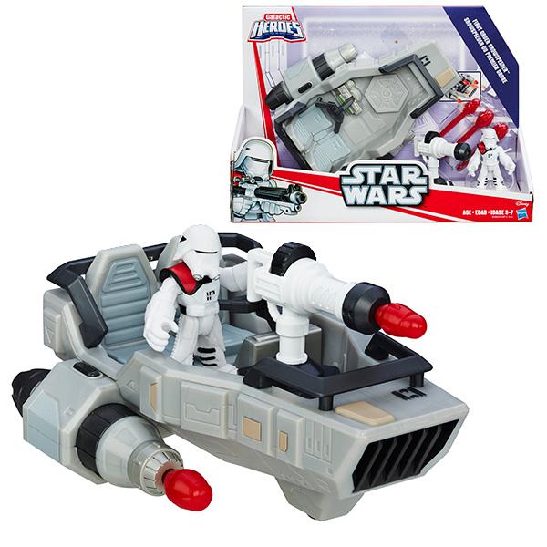 Playskool Heroes B3812 Герои Star Wars: Транспортное средство Дэлюкс с фигуркой