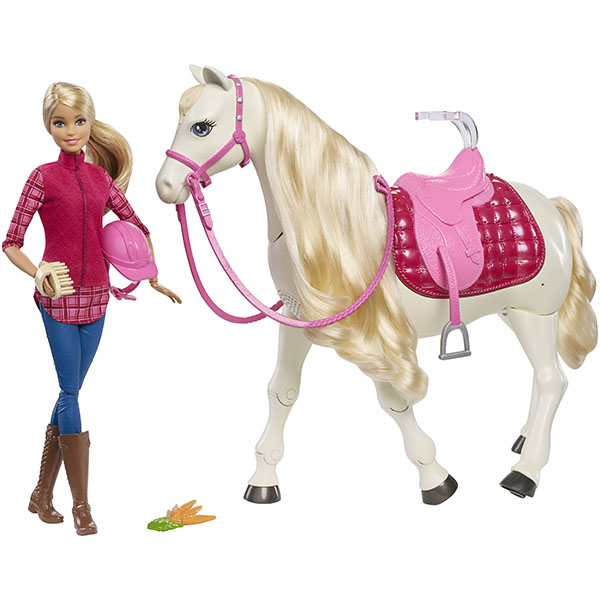 Mattel Barbie FRV36 Барби Кукла и лошадь мечты mattel mattel кукла ever after high мишель мермейд