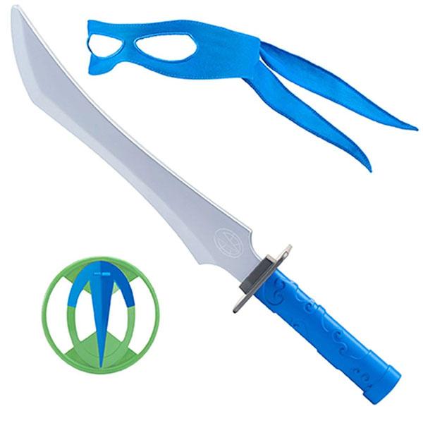 Черепашки Ниндзя 82051 Боевое оружие Леонардо Мистический меч одати, серия ROTMNT