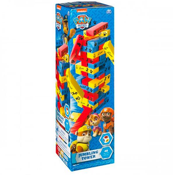 """Spin Master 6035863 Настольная игра """"Построй башню Щенячий Патруль"""""""