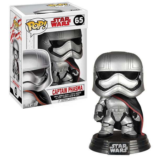 Funko POP 14739F Bobble: Star Wars: E8 TLJ: Captain Phasma 14739 funko pop bobble фигурка star wars solo qi ra pop 6 26977