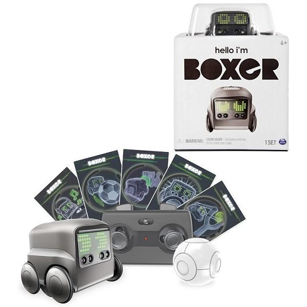 Boxer 75100-B4 интерактивный робот (черный) boxer 75100 bs интерактивный робот синий