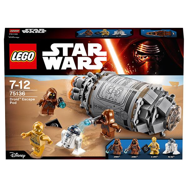 Lego Star Wars 75136 Конструктор Лего Звездные Войны Спасательная капсула дроидов