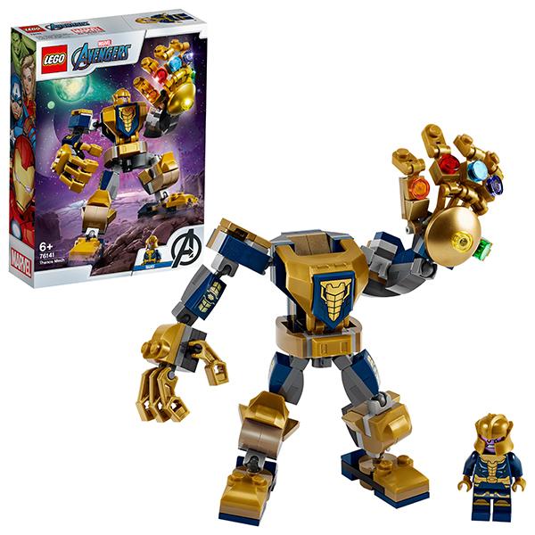 LEGO Super Heroes 76141 Конструктор ЛЕГО Супер Герои Танос: трансформер детское лего sluban airbus lego b0366