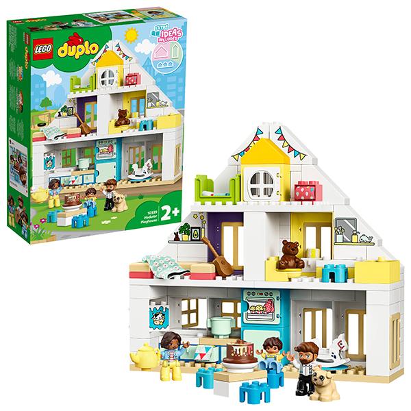 цена LEGO DUPLO 10929 Конструктор ЛЕГО ДУПЛО Модульный игрушечный дом онлайн в 2017 году