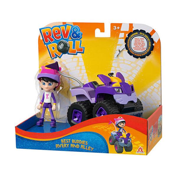 Rev&Roll EU881720 Фигурка+машинка (пластик) - Авери и Аллей