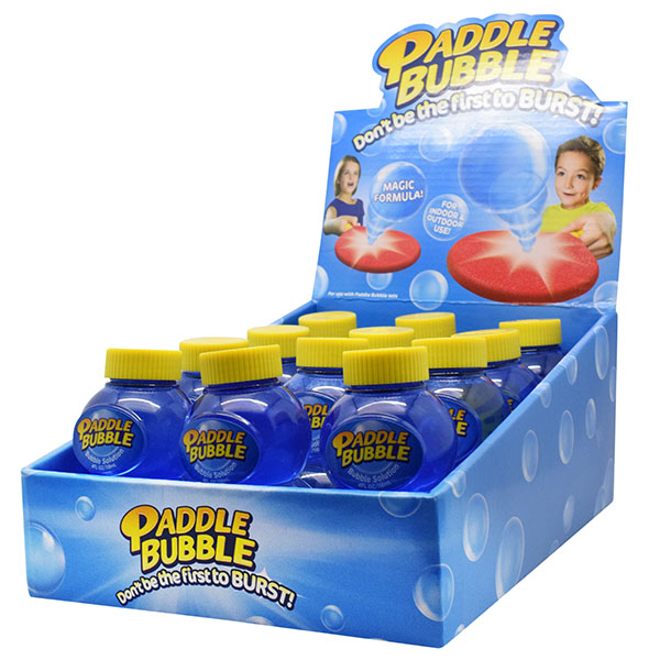 Paddle Bubble 280254 Бутылочка с мыльным раствором, 120 мл