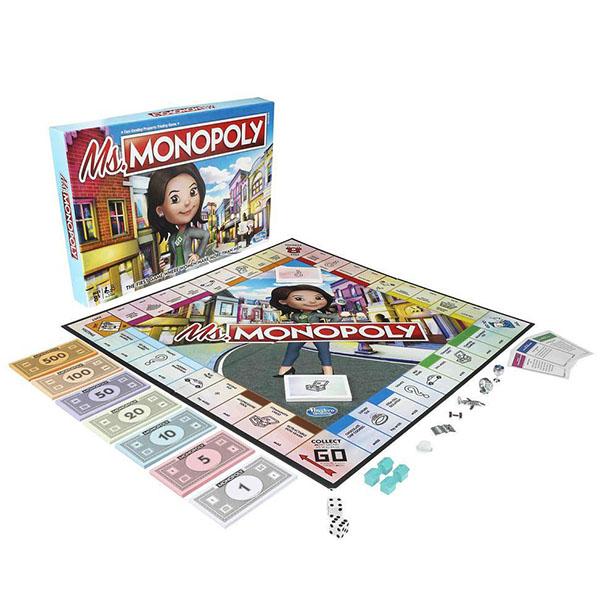 Hasbro Monopoly E8424 Игра настольная Мисс Монополия