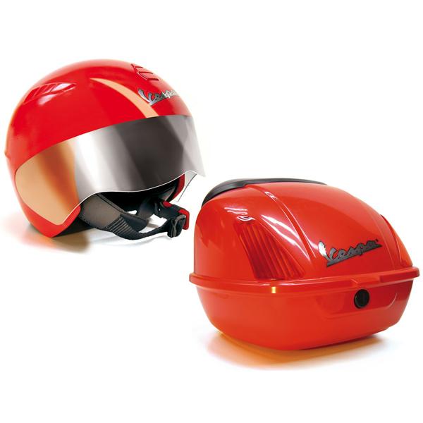 Peg-Perego 0702_204 Пег-Перего Шлем и багажник Vespa