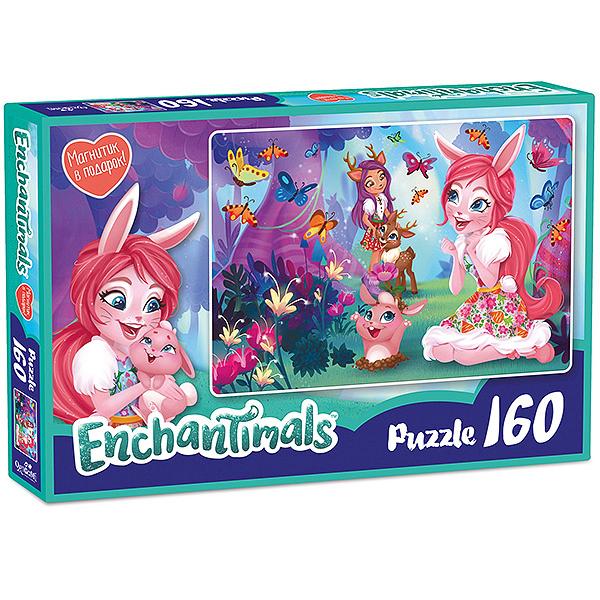 Enchantimals AST188871 Пазл Бри и Даниэсса 160 элементов mattel набор с куклой enchantimals сюжетные наборы бри банни и твист