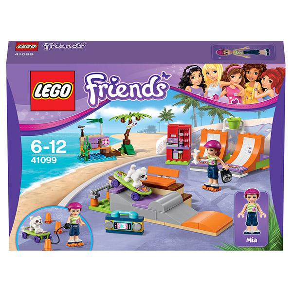 Лего Подружки 41099 Скейт-парк Хартлейк сити