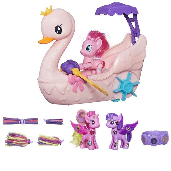 """Hasbro My Little Pony B3600N Май Литл Пони Игровой набор """"Пинки Пай на лодке"""""""