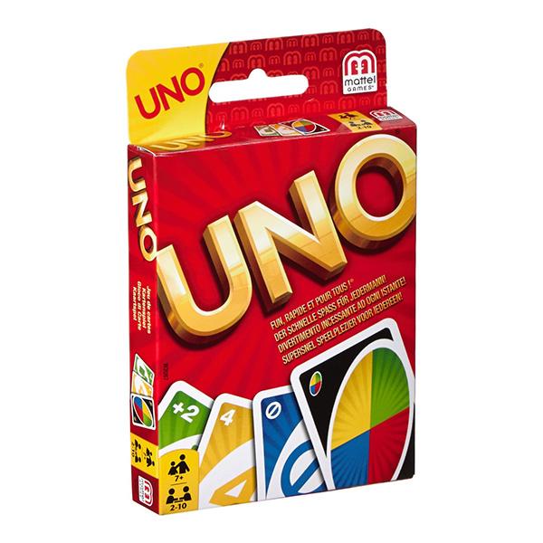 Mattel Uno W2087_9 Классическая карточная игра Уно
