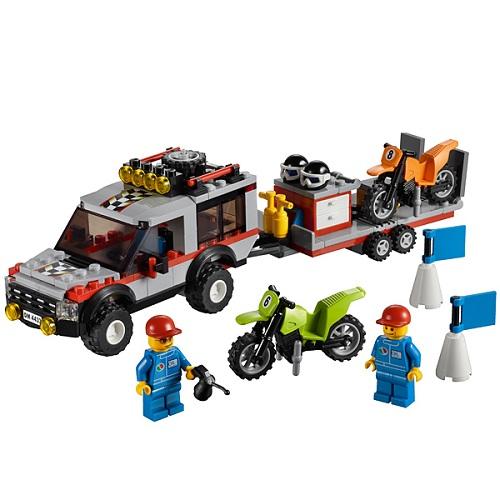 Lego City 4433 Конструктор Лего Город Транспортёр мотоциклов