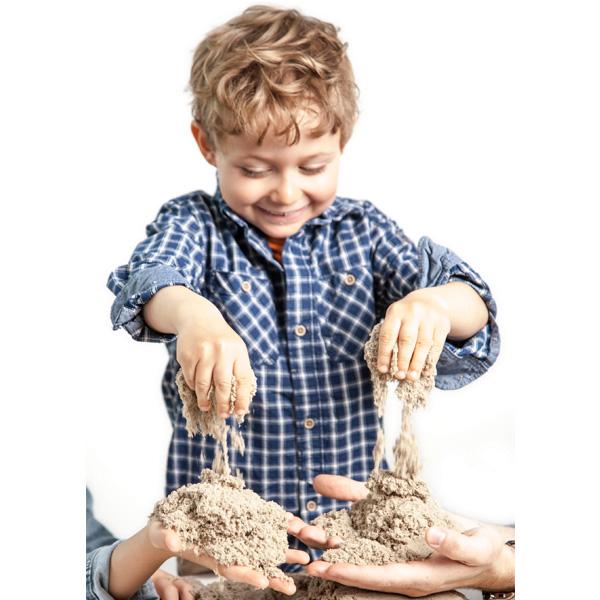 Kinetic sand 71409-2-6026697 Кинетик сэнд Кинетический песок для лепки, коричневый