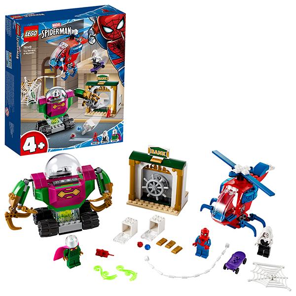 LEGO Super Heroes 76149 Конструктор ЛЕГО Супер Герои Угрозы Мистерио детское лего sluban airbus lego b0366