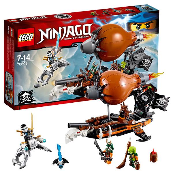 Lego Ninjago 70603 Лего Ниндзяго Дирижабль-штурмовик lego lego ninjago дирижабль штурмовик