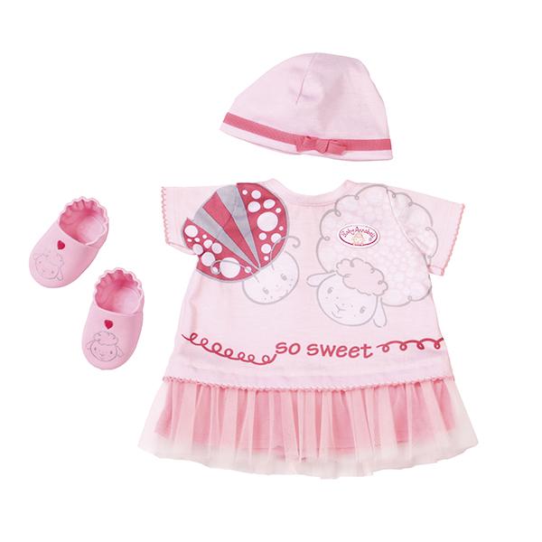 Zapf Creation Baby Annabell 700-198 Бэби Аннабель Одежда для теплых деньков zapf creation горшок для кукол baby annabell с аксессуарами