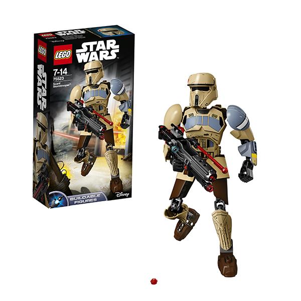 Lego Star Wars 75523 Конструктор Лего Звездные Войны Штурмовик со Скарифа lego star wars 75523 лего звездные войны штурмовик со скарифа