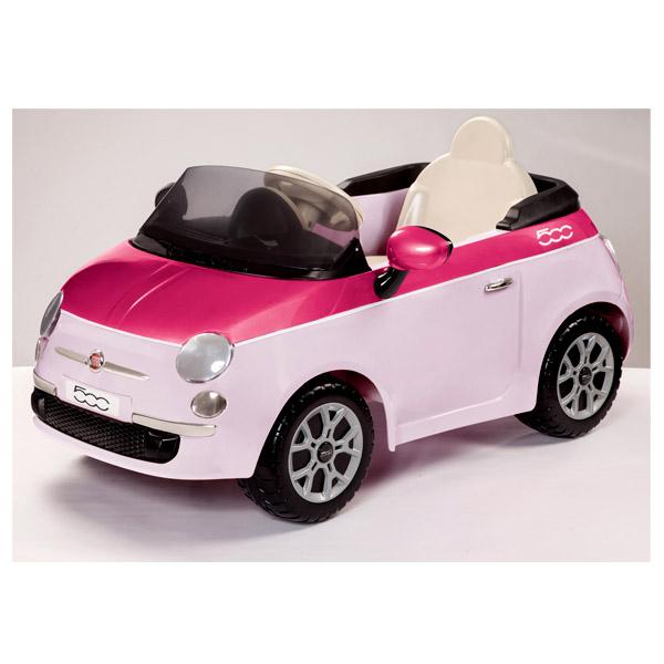 Детский электромобиль Peg-Perego ED1162_1 Fiat 500 (розовый)