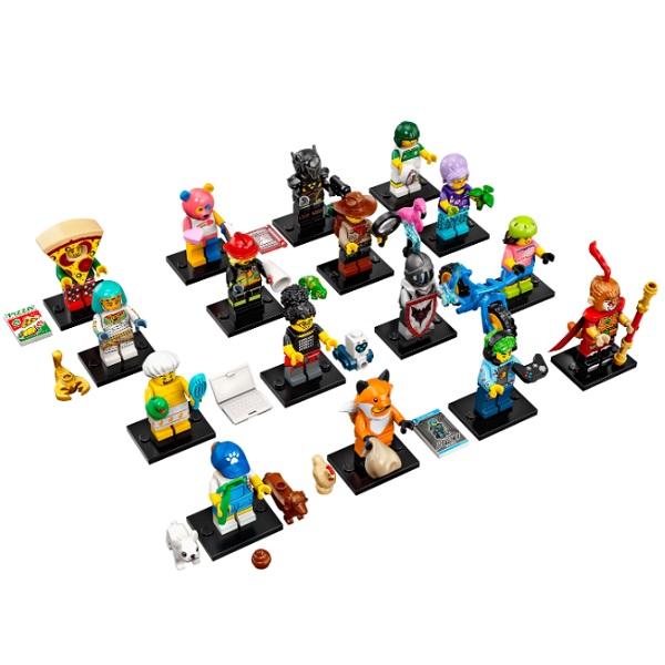цена на LEGO Minifigures 71025 Конструктор ЛЕГО Минифигурки LEGO®, серия 19