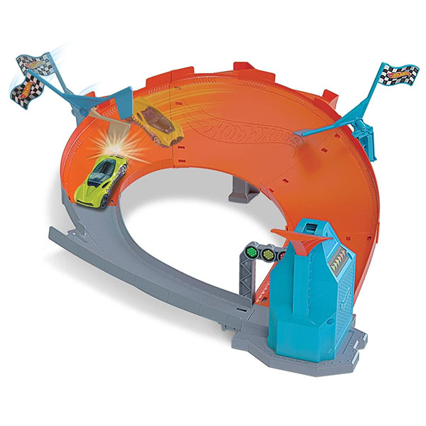 Mattel Hot Wheels GBF84 Хот Вилс Гоночный игровой набор mattel hot wheels dwk98 хот вилс трасса