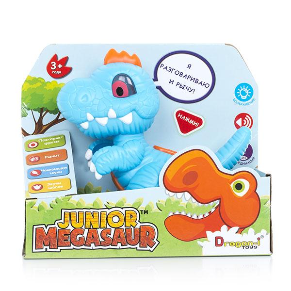 Junior Megasaur 16919 Динозавр-повторюшка, световые и звуковые эффекты